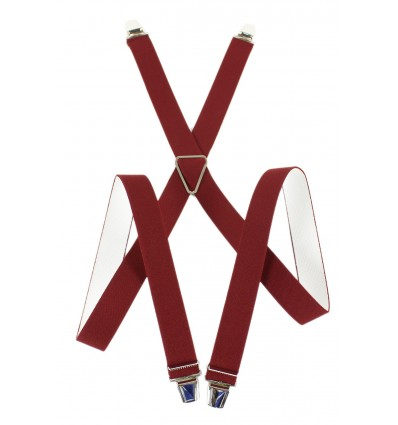 """Bretelle elastique épais large """"X"""" à 4 branches fabrication française"""